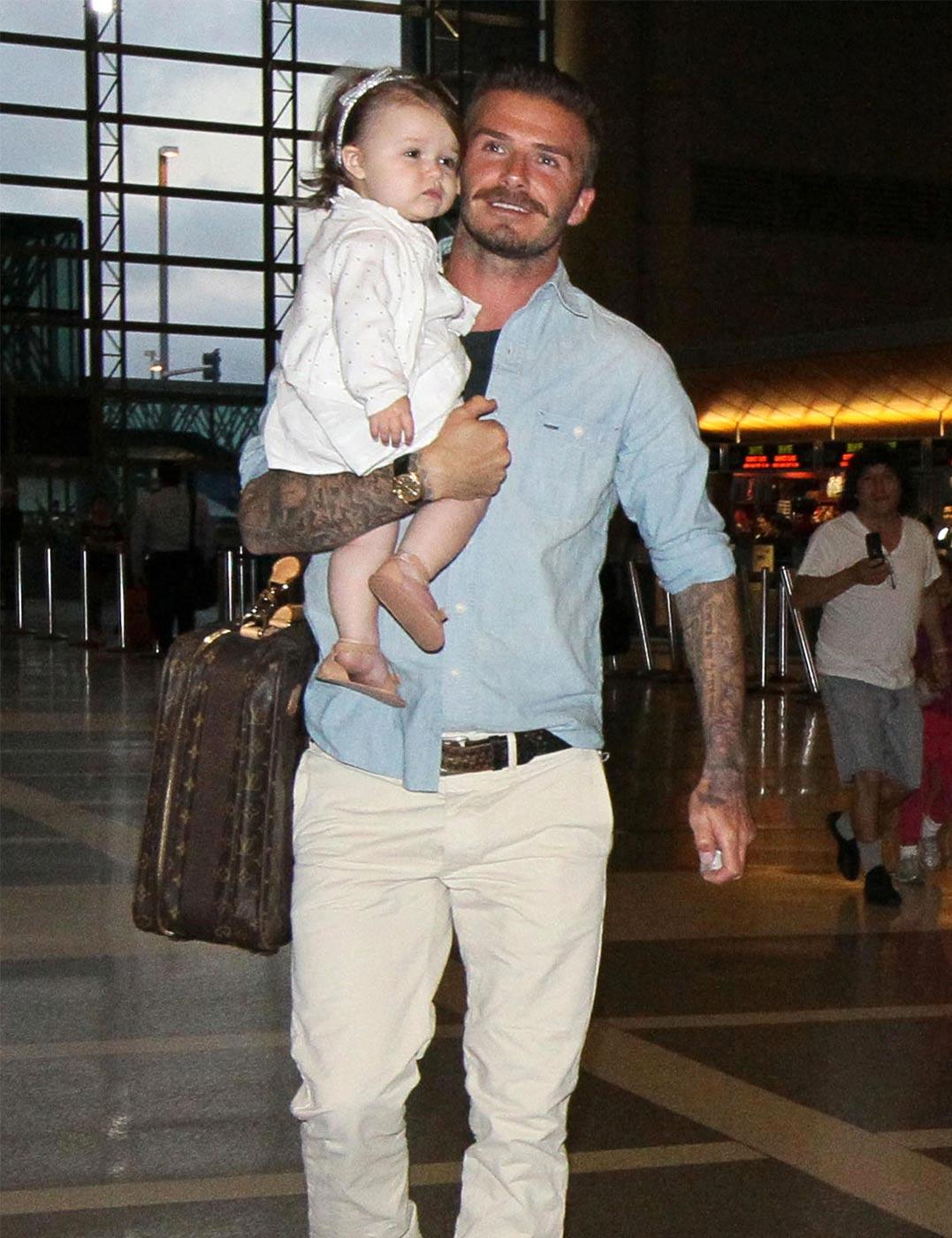 Harper Beckham 1st Birthday Harper Beckham Celebrates 1st